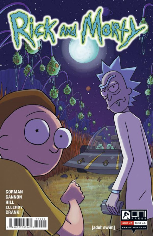 Rick and Morty #2 (20 Copy Hayes Cover)