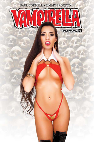 Vampirella #2 (Cosplay Cover)