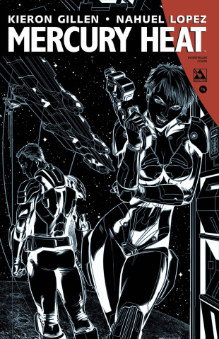 Mercury Heat #6 (Intersteller Cover)