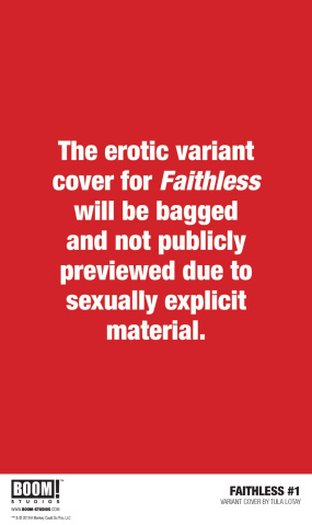 Faithless #1 (Lotay Erotica Cover)