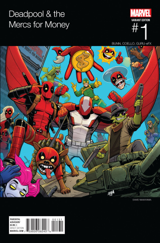 Deadpool and the Mercs For Money #1 (Nakayama Hip Hop Cover)