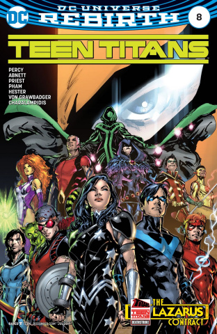 Teen Titans #8 (Variant Cover)