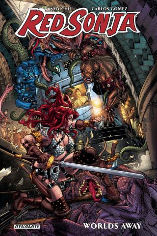 Red Sonja: Worlds Away Vol. 1