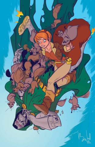 The Unbeatable Squirrel Girl #1 (Caldwell Cover)
