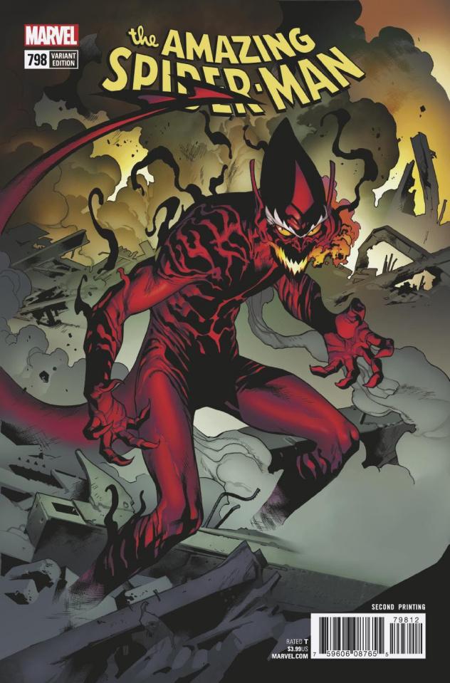 The Amazing Spider-Man #798 (Immonen 2nd Printing)