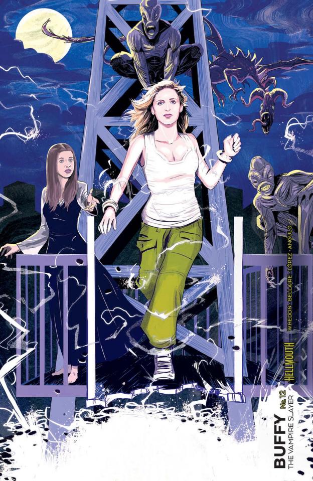 Buffy the Vampire Slayer #12 (Preorder Inzana Cover)