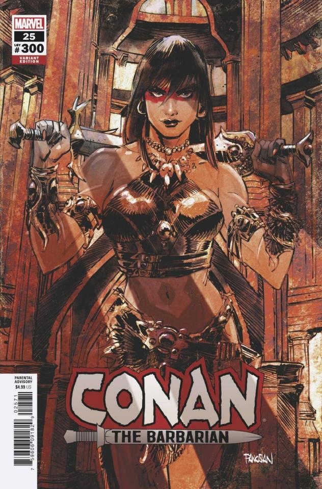 Conan the Barbarian #25 (Panosian Cover)