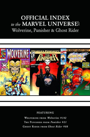 The Official Index to the Marvel Universe #5 (Wolverine, Punisher & Ghost Rider)