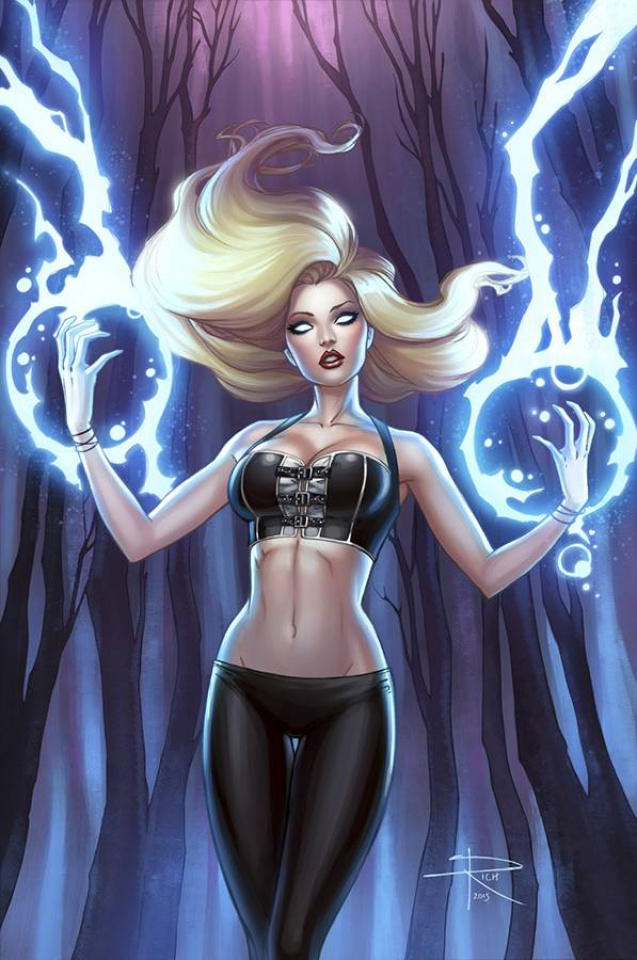 Grimm Fairy Tales: The Coven #5 (Rich Cover)