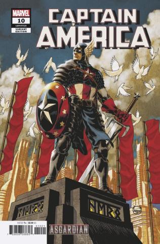 Captain America #10 (Johnson Asgardian Cover)