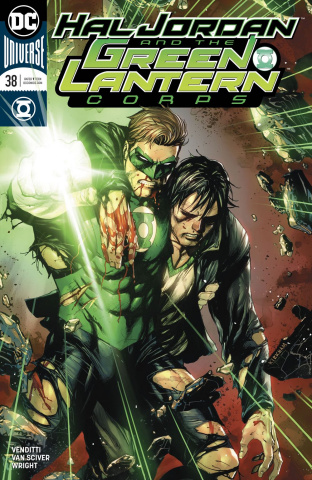 Hal Jordan and The Green Lantern Corps #38 (Variant Cover)