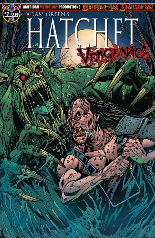 Hatchet: Vengeance #1 (Calzada Faceoff Cover)