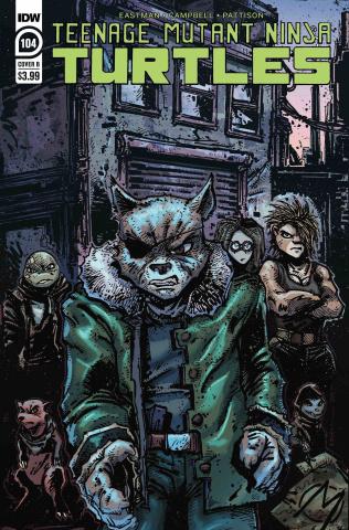 Teenage Mutant Ninja Turtles #104 (Eastman Cover)