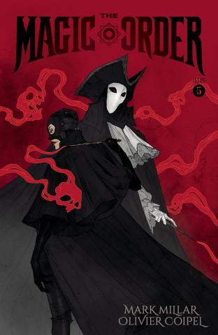 The Magic Order #5 (Larsen Cover)