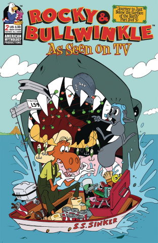 Rocky & Bullwinkle: As Seen on TV #2 (Gallant Cover)