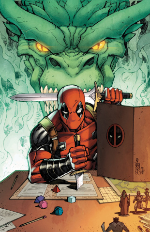 You Are Deadpool #1 (Lim Cover)