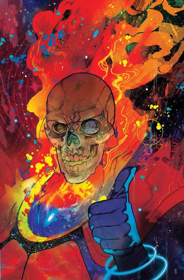 Thanos #17 (Ward Cover)