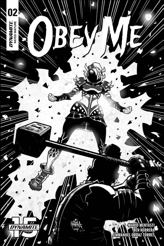 Obey Me #2 (10 Copy Herrera B&W Cover)