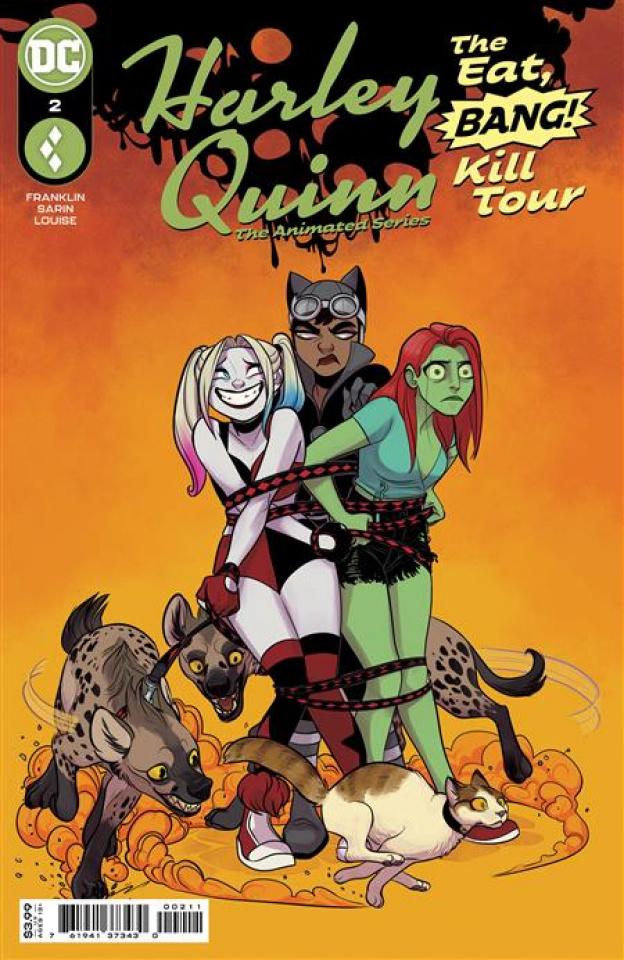 Harley Quinn: The Animated Series - The Eat, Bang, Kill Tour #2 (Max Sarin Cover)