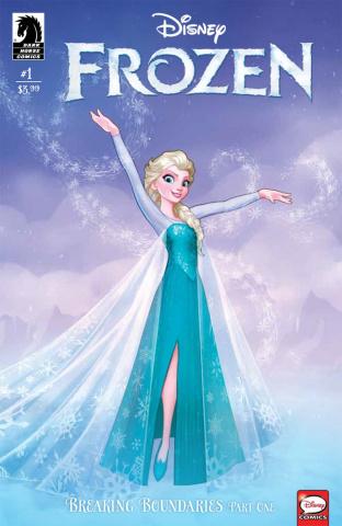 Frozen: Breaking Boundaries #1 (Francisco Cover)