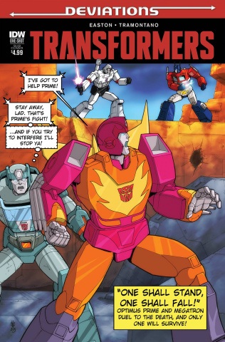 The Transformers: Deviations (Subscription Cover)
