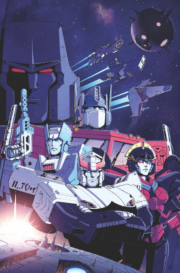 The Transformers #1 (10 Copy Coller Cover)