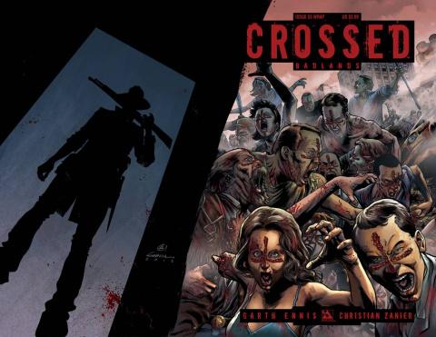 Crossed: Badlands #53 (Wrap Cover)