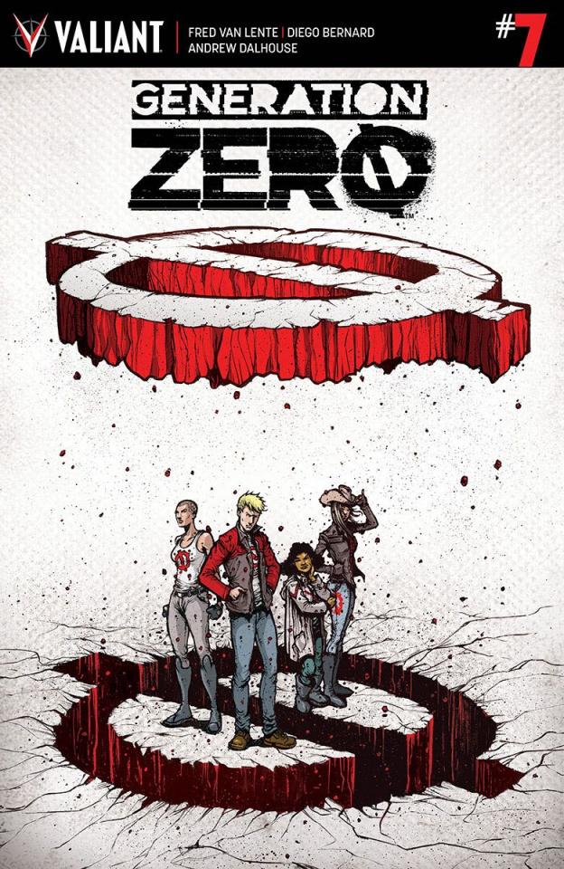 Generation Zero #7 (20 Copy Lee Cover)