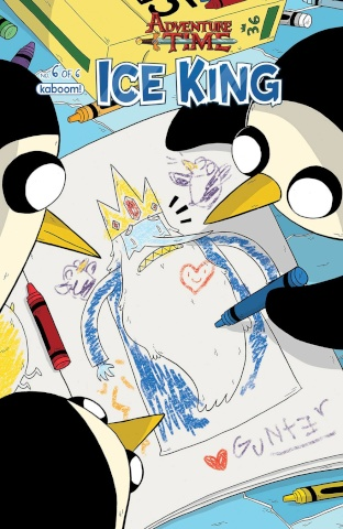 Adventure Time: The Ice King #6 (Subscription Naujokaitis Cover)