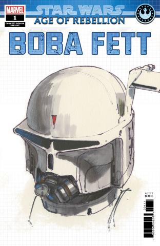 Star Wars: Age of Rebellion - Boba Fett #1 (Concept Cover)
