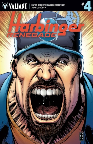 Harbinger: Renegade #4 (Robertson Cover)