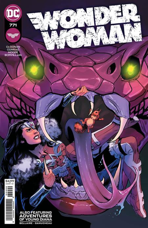 Wonder Woman #771 (Travis Moore Cover)