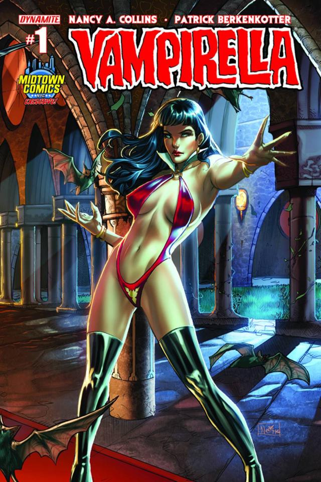 Vampirella #1 (Midtown Comics Cover)