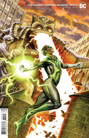 Green Lantern, Season 2 #10 (J.G. Jones Cover)