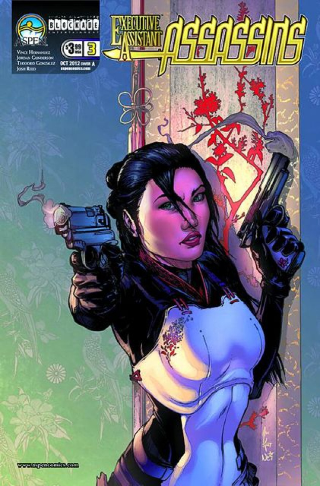 Executive Assistant: Assassins #3 (Konat Cover)