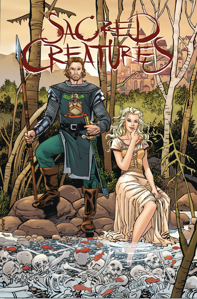 Sacred Creatures #3 (Janson Cover)