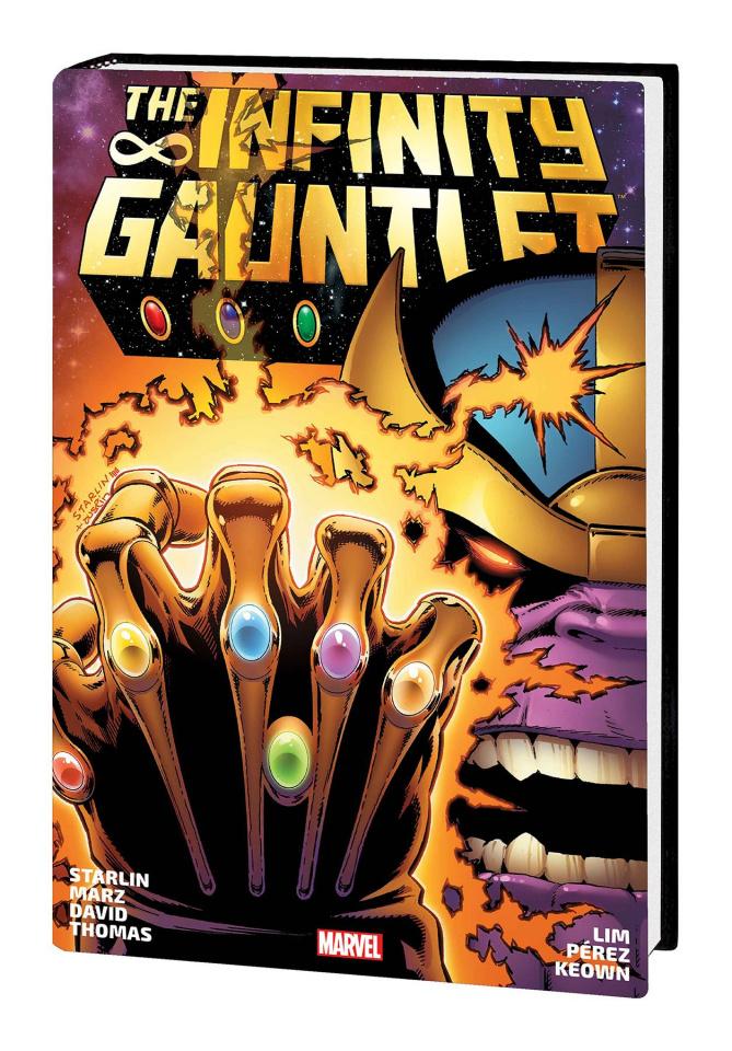 The Infinity Gauntlet (Omnibus Starlin Cover)