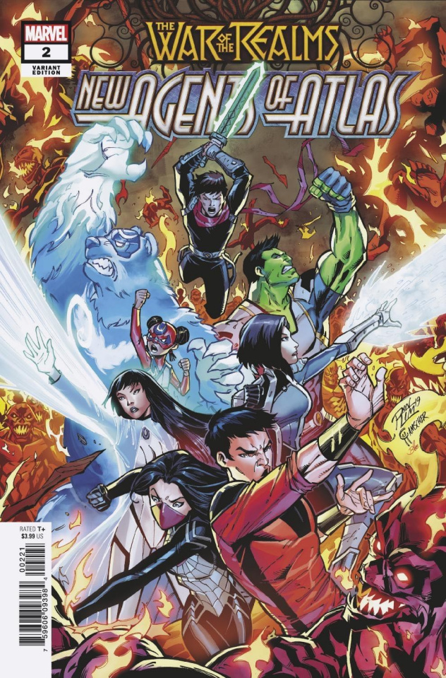 The War of the Realms: New Agents of Atlas #2 (Ron Lim Cover)