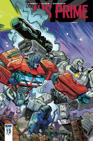 Optimus Prime #15 (10 Copy Cover)