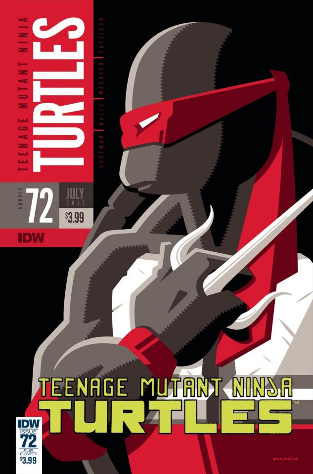 Teenage Mutant Ninja Turtles #72 (Whalen Cover)