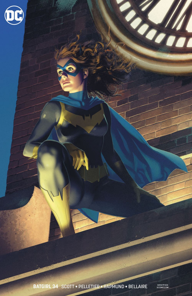 Batgirl #34 (Variant Cover)