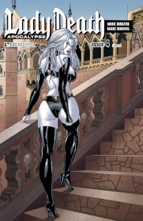Lady Death: Apocalypse #4 (Classical Cover)