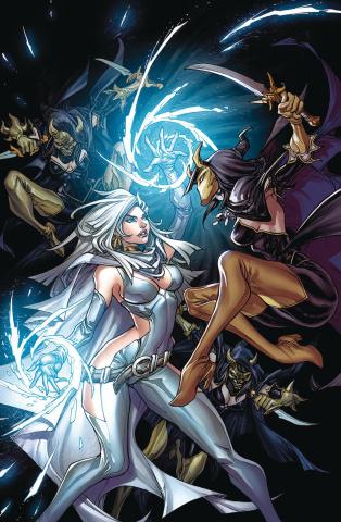 Grimm Fairy Tales: Tarot #6 (Pantalena Cover)