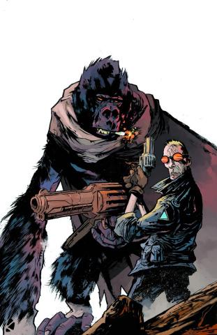 Six Gun Gorilla #1 (2nd Ptg)