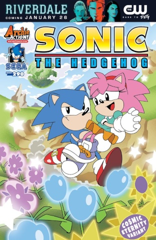Sonic the Hedgehog #290 (Yardley Cover)