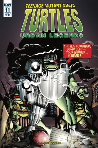 Teenage Mutant Ninja Turtles: Urban Legends #11 (Fosco Cover)