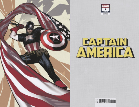 Captain America #1 (Hughes Virgin Cover)
