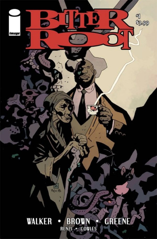Bitter Root #1 (Mignola Cover)