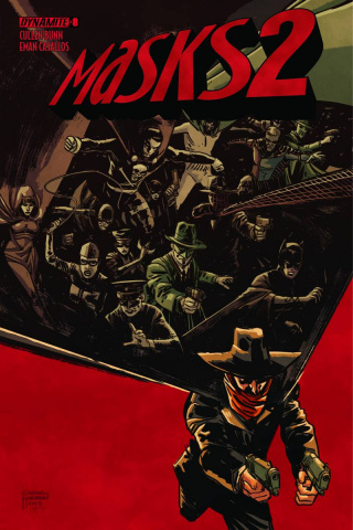Masks 2 #8 (Subscription Cover)