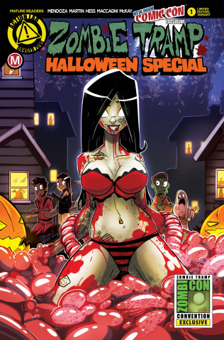 Zombie Tramp Halloween 2016 (NYCC Cover)